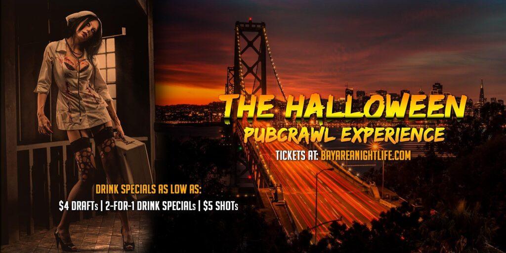 San Francisco Halloween Pub Crawl - Saturday